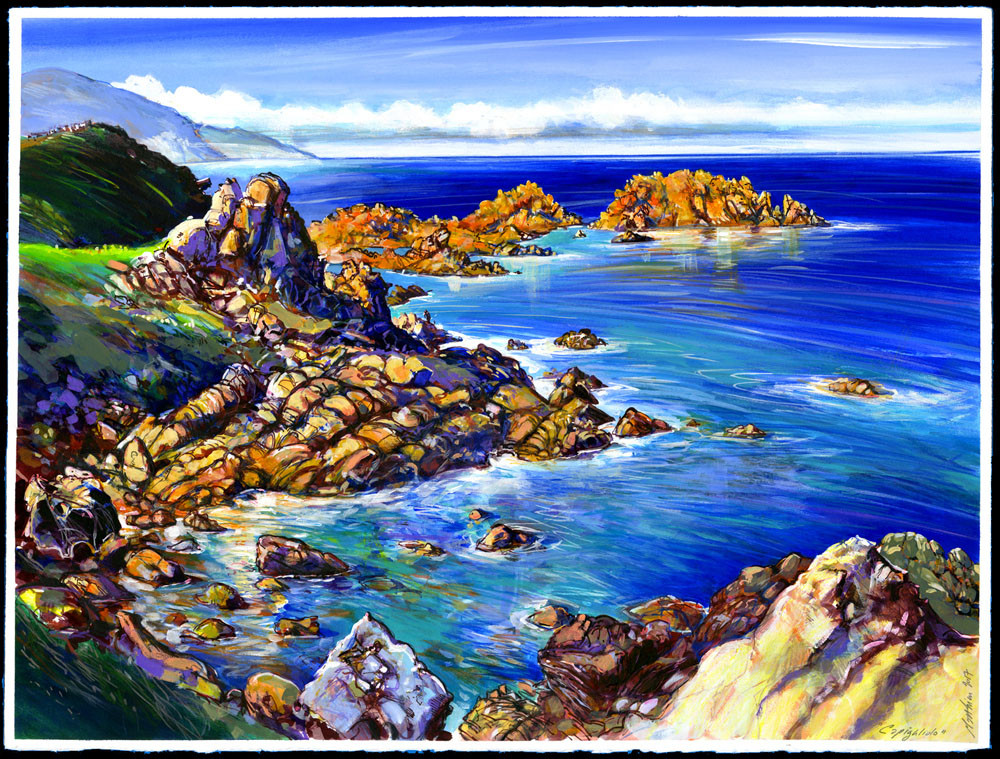 Les rochers de Sagone