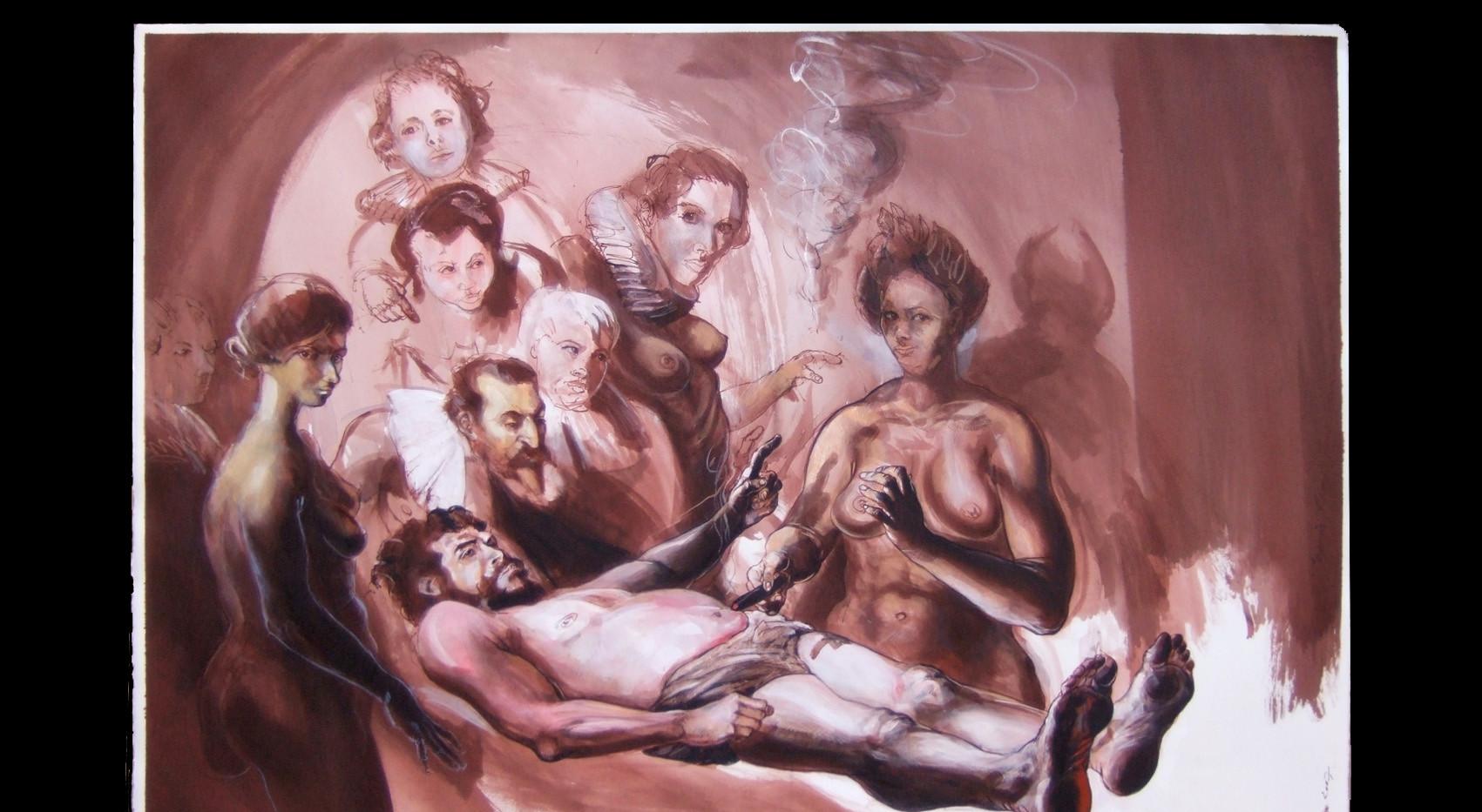 D'après Rembrandt, le dernier cigare du Ché