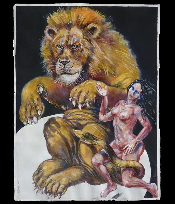 Les Acrobates, Mon lion et moi