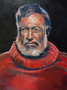 Portrait de Ernest Hemingway