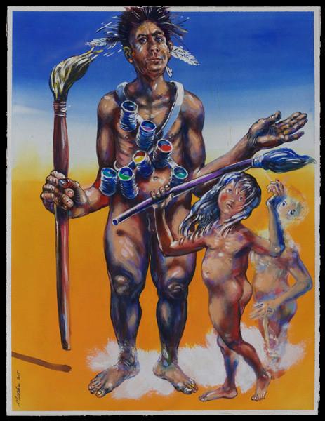 Les peintres du desert 1