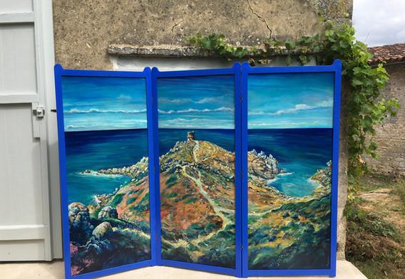 Paravent, Tour d'Omigna, Corse, en Face B