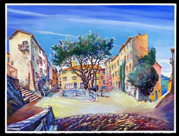Saint-Tropez, Place Henri Person