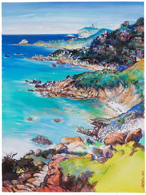 Sperone, 2013, Corse. Tirage d'Art, signé, numéroté, limité à 30 ex.