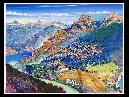 Piana, 2019, Corse. Tirage d'Art, signé, numéroté, limité