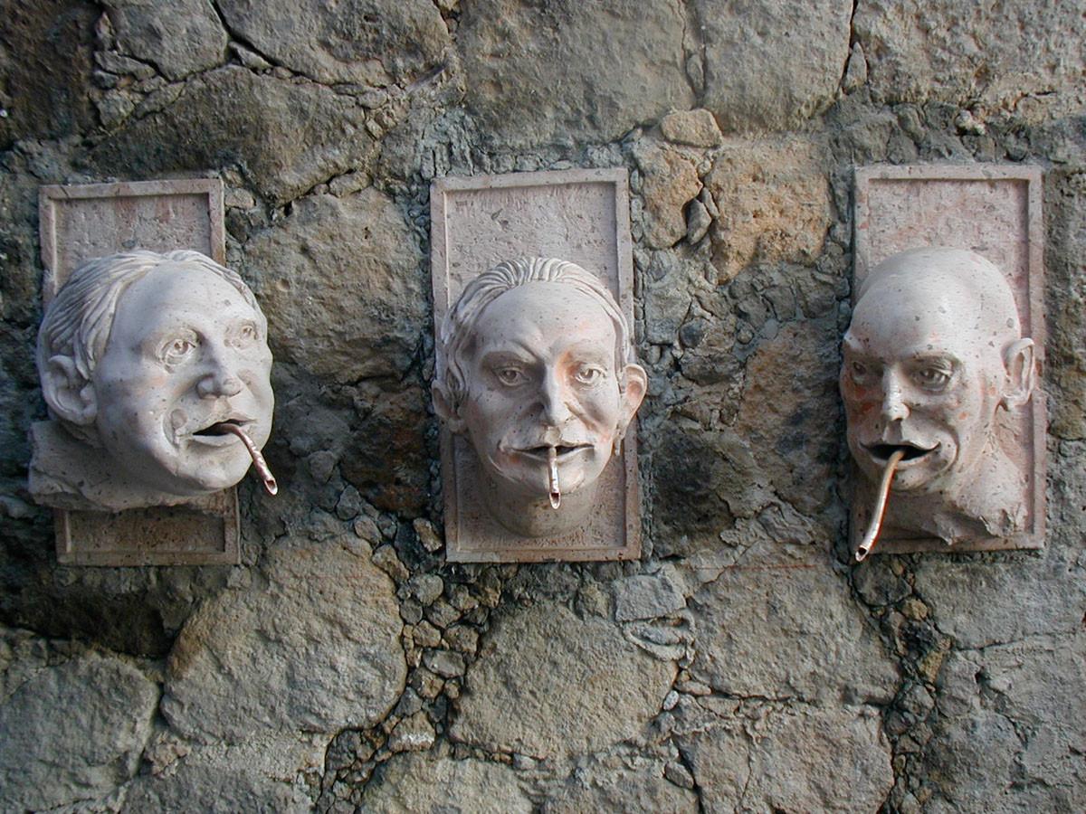 Fontaine, San Miguel de Allende, Mexique