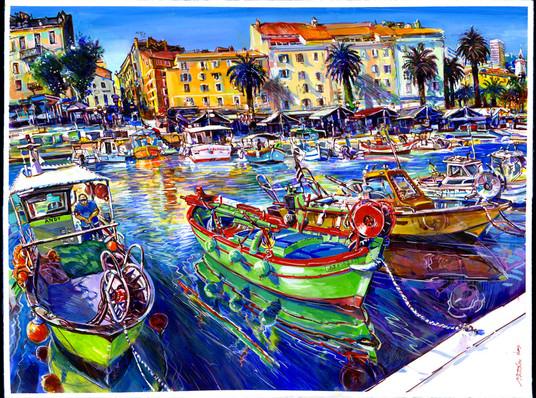Ajaccio, le Port