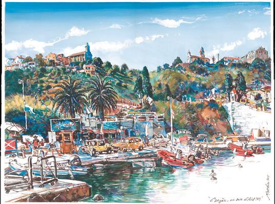 Cargèse, vue du port