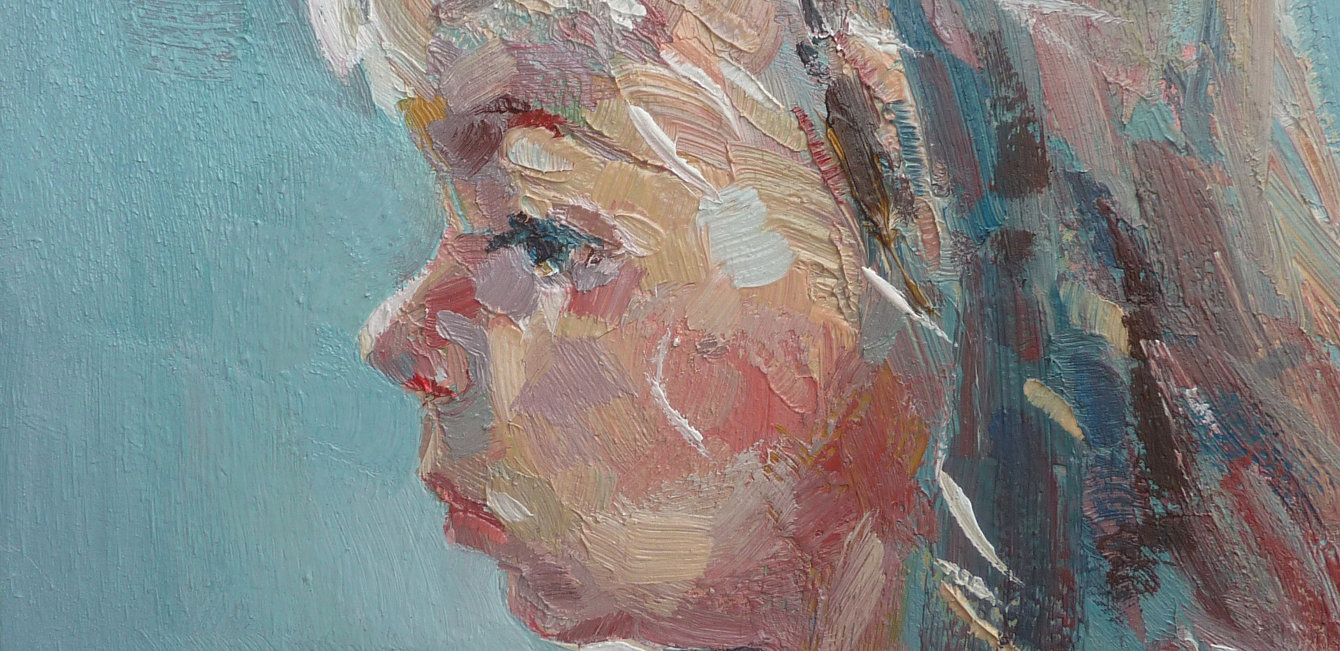 Fille de Juliette, huile sur toile, 2013