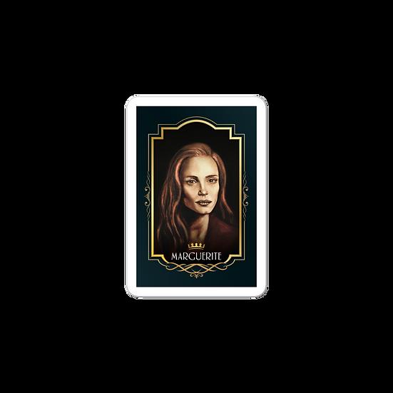 Queen Marguerite sticker