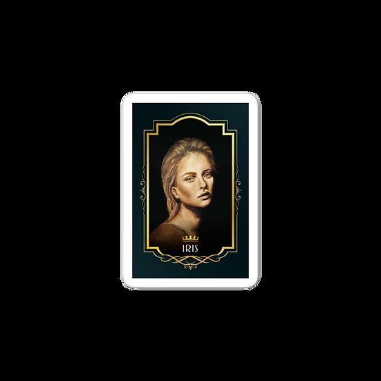 Queen Iris sticker