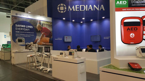 MEDICA 2017 [ 9Hall D14 MEDIANA & M.I.One ]