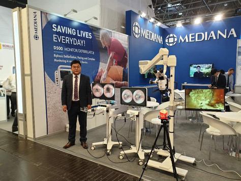 MEDICA, Düsseldorf / Germany from 12 - 15 November 2018