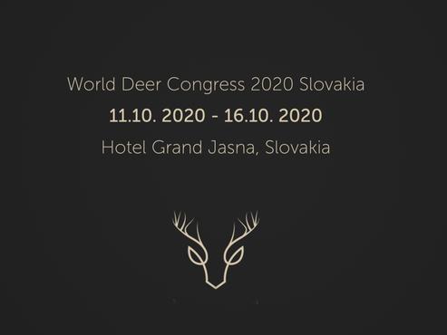 World Deer Congress 2020 na Slovensku!                      11.-16.10. 2020 Demänovská Dolina