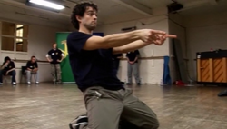 Lee Mead dance class Joseph School