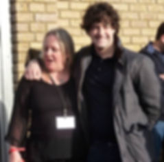 Penni and Lee Mead