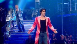 Lee Mead opening number live show 2