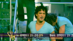 Lee Mead in group song one vision