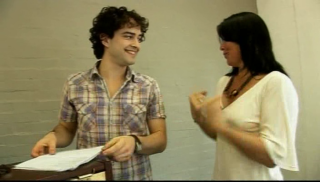 Lee Mead VT rehearsing with Zoe