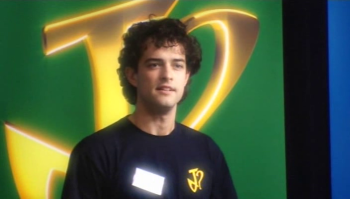 Lee Mead at Joseph School