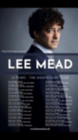 Lee Mead 10 year Poster