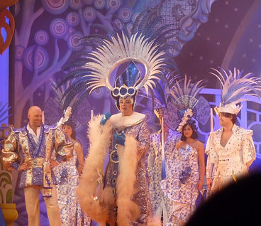 Aladdin cast Birmingham Hippodrome