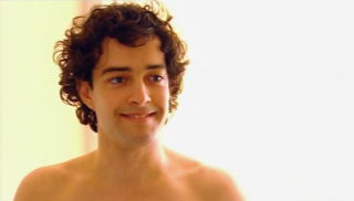 Lee Mead in his loincloth