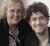 Lee Mead and Joan Lankford from Meadaholics