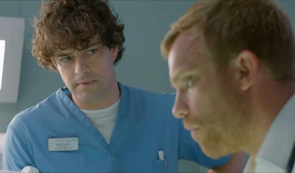Lee Mead Casualty Home for Christmas