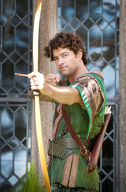 Lee Mead as robin hood on Meadaholics