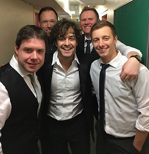 Lee Mead Some Enchanted Evening band