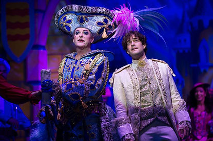 Julian Clary & Lee Mead in Cinderella
