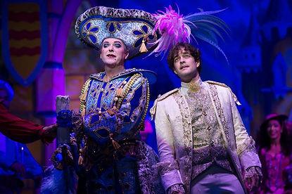 Julian Clary & Lee Mead in Cinderella