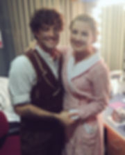 Lee Mead Moillie Melia Redgrave (molliemeliered)