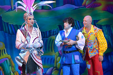 Julian Clary Lee Mead Matt Slack