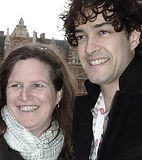 Lee Mead and Sue Waite from Meadaholics