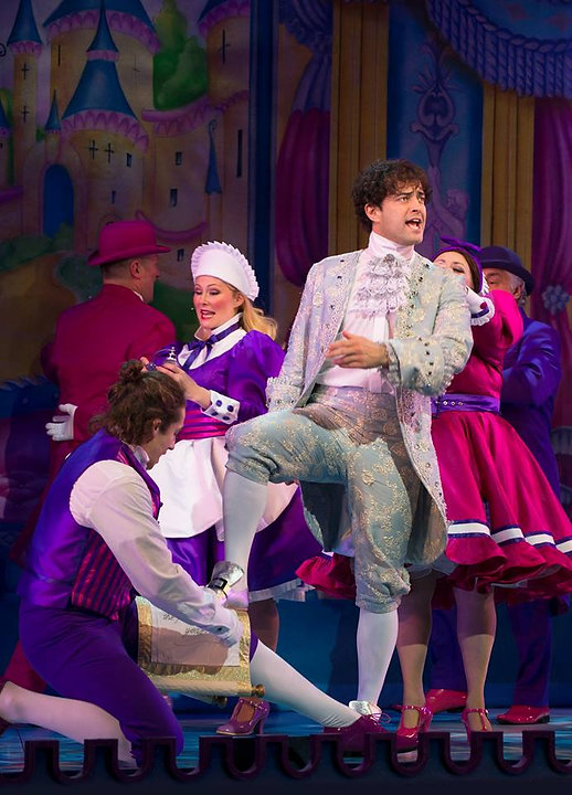 Lee Mead as Prince Charming-Cinderella at the London Palladium