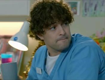 Lee Mead as Lofty in Casualty
