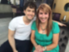 Lee Mead Nancy Stevens MKFM