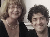Lee Mead and Lin Boniti from Meadaholics