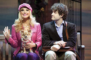 lee mead in legally blonde with carley stenson
