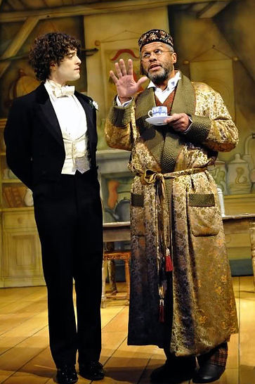 Lee Mead as Lord Arthur Savile and Gary