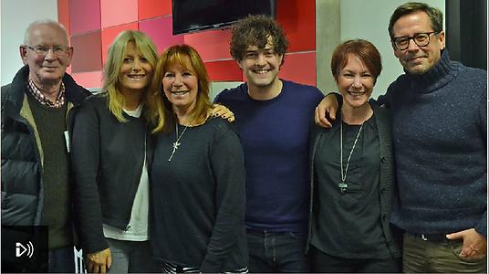 Lee Mead BBC Radio London Gaby Roslin Show
