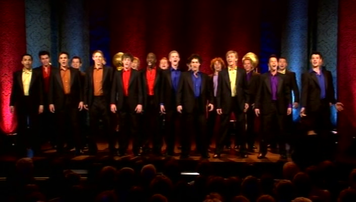 Final 20 sing at the Castle concert