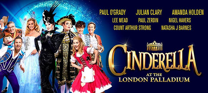 Cinderella at the London Palladium