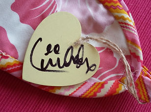 Toot Sweet Bag Design signed Heart 1