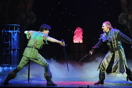 Lee Mead and Nigel Havers in robin hood