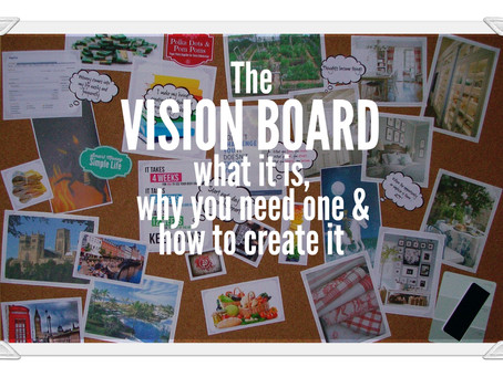 Visualise your future with a vision board