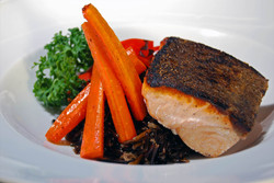 Salmon & wild rice