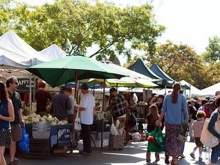 Temescal farmers market, Oakland